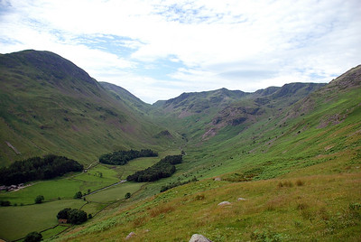 Grisedale Beck above Elmhow farm.