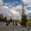 Rainbow over Gibbon River, Yellowstone National Park