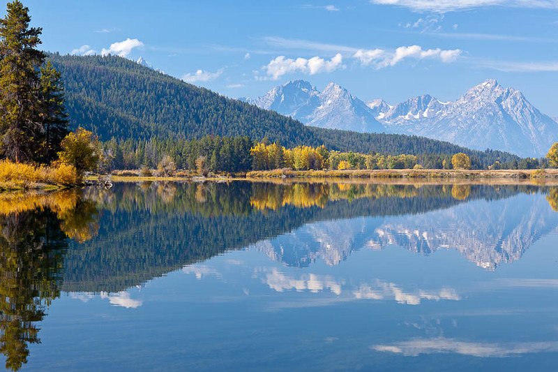 Oxbow Bend in the Fall, Grand Teton National Park