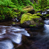 Multnomah Creek; Columbia River Gorge