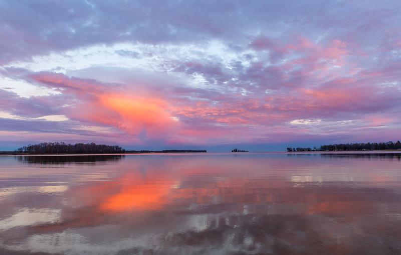 Twilight on Lake Mile Lacs