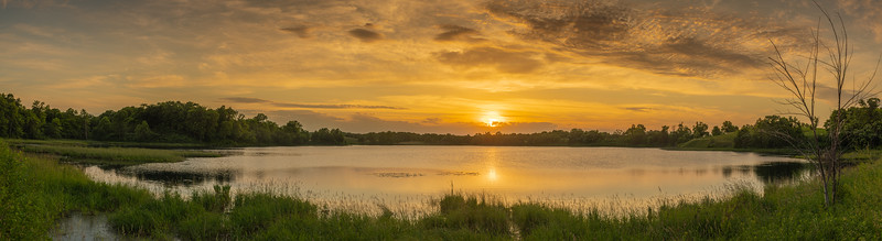 Prairie Lake Panoramic