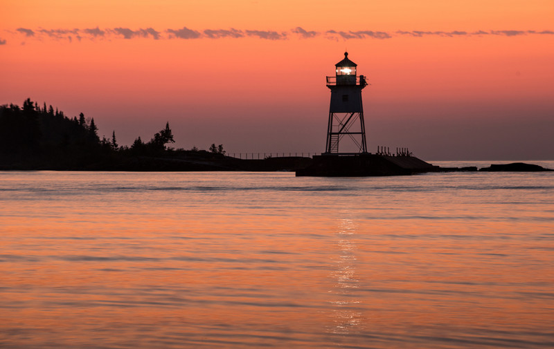 Twilight at Grand Marais Bay