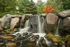 Waterfall at the Minnesota Landscape Arboretum