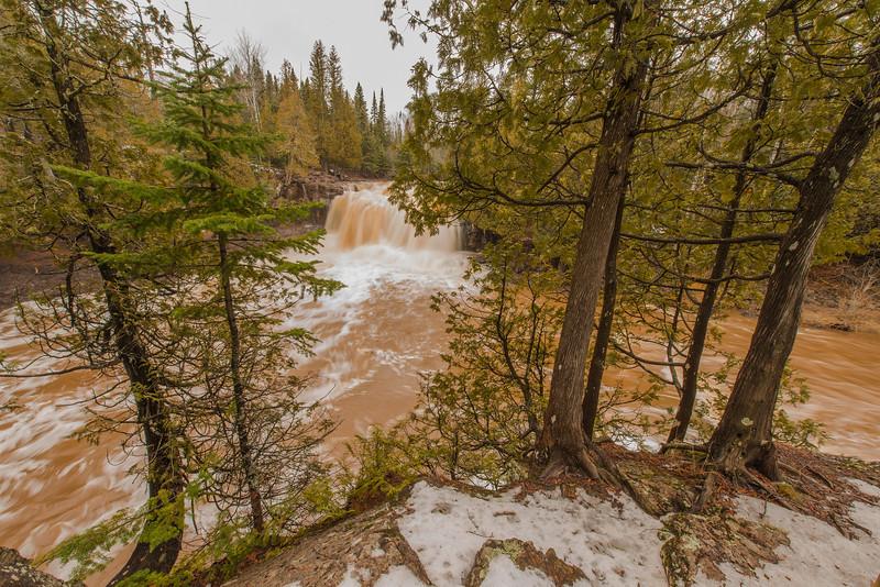 Upper Falls of the Gooseberry River