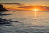 Lake Superior sunrise on Cascade River