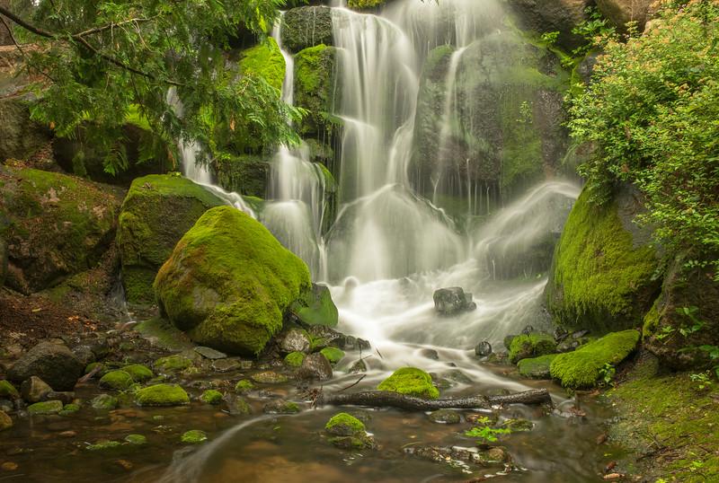 Minnesota Landscape Arboretum waterfall