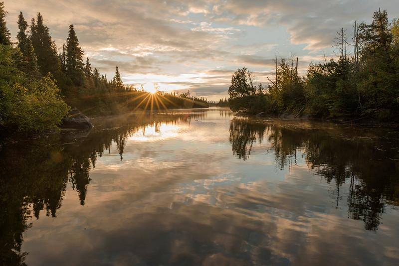 Poplar Lake at sunrise