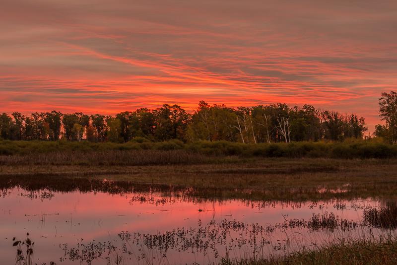 Sunrise at Dike 5