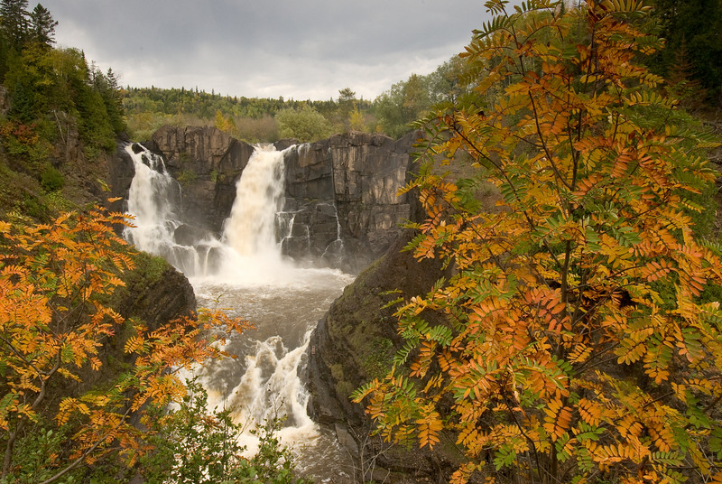 MNLR-7128-High Falls on the Pigeon river