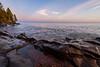Twilight on Lake Superior