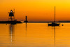 Twilight at Grand Marais Harbor