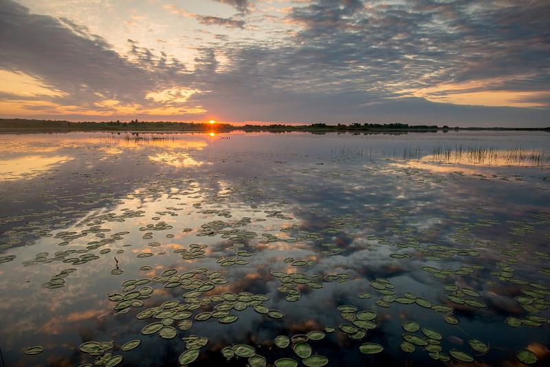 MNLR-13-26: Sunset on Phantom Lake