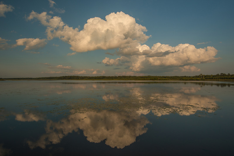 MNLR-13-104: Cloud and reflection