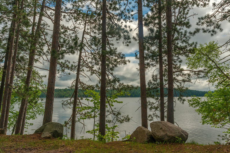 North Arm of Burntside Lake