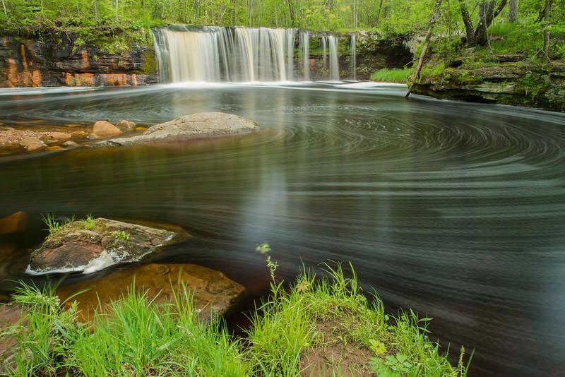 Wolf Creek Falls in motion