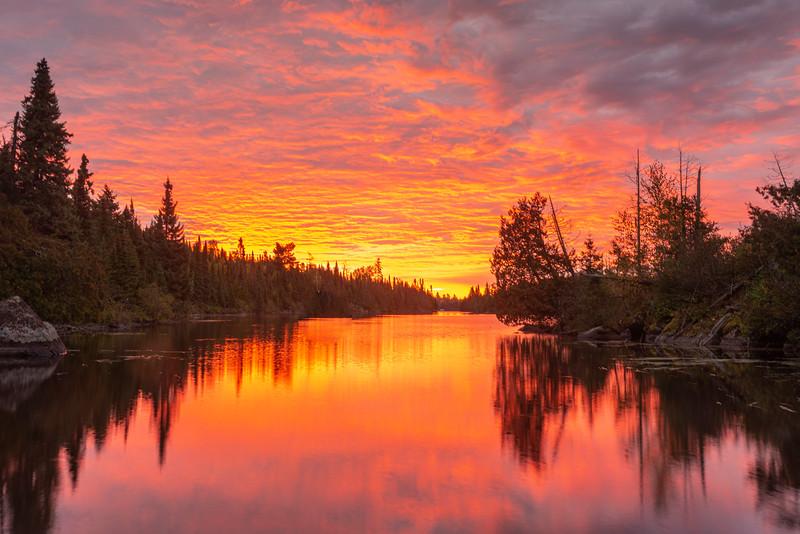 Poplar Lake Sunrise