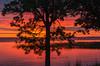 Sunrise at Mile lacs Lake