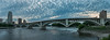 Hiway 65 Bridge and Mississippi River Panoramic