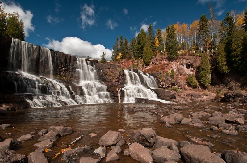 MNLR-10176: Lower Gooseberry Falls at Gooseberry State Park