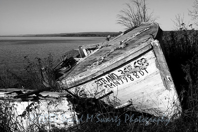Old Boat, North of Duluth, Minnesota
