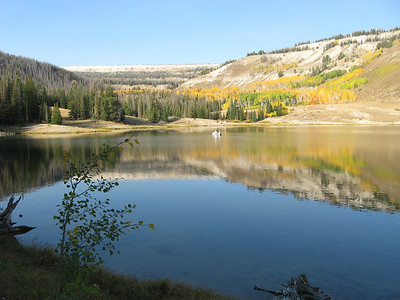 Duck Fork Reservoir. Photo taken on October 10, 2013 by Tom Ogden.