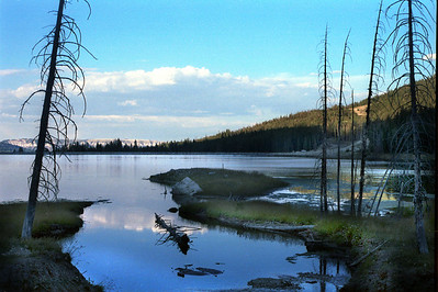 Duck Fork Reservoir in central Utah's Wasatch Plateau. Photo by Cory Maylett
