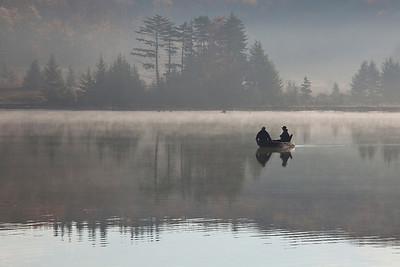 Fishermen on Spruce Know Lake, WV (IMG_2339)
