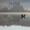 Fishermen on Spruce Know Lake, WV<br /> (IMG_2339)