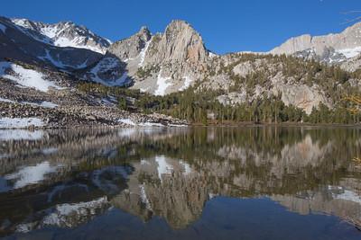reflection in horton lake.