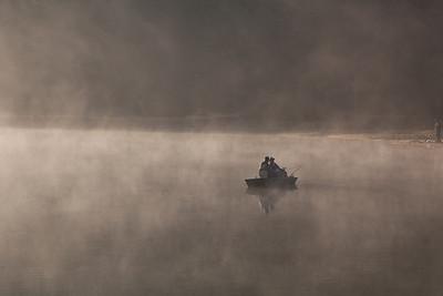 Fishermen on Spruce Knob Lake, WV (IMG_2328)