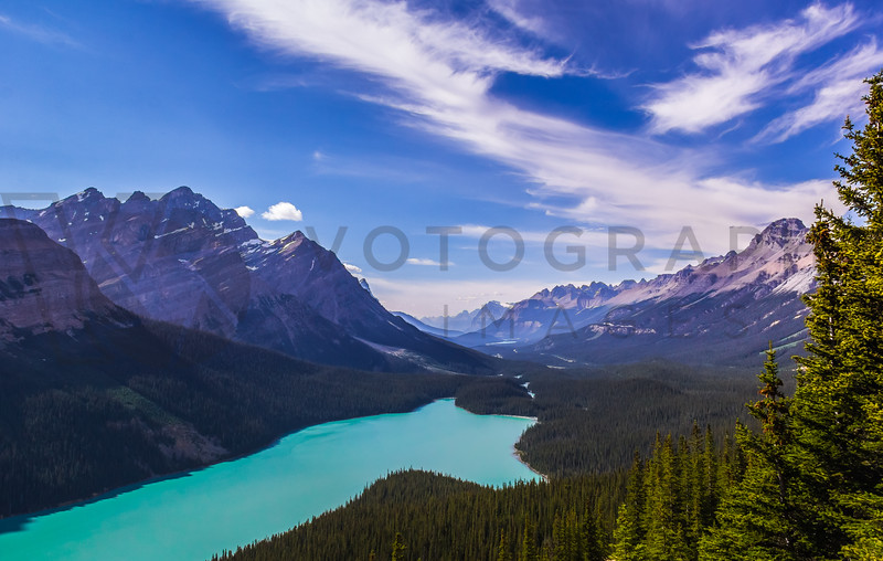 Endless Mountain Range, Endless Valley, Endless Beauty, Alberta, Canada