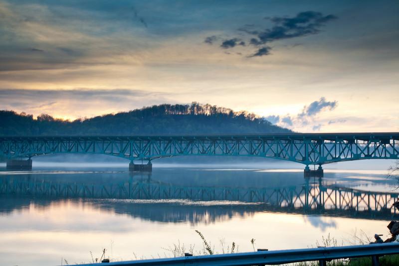 Cheat Lake Bridge<br /> Morgantown, WV<br /> (IMG_2702)