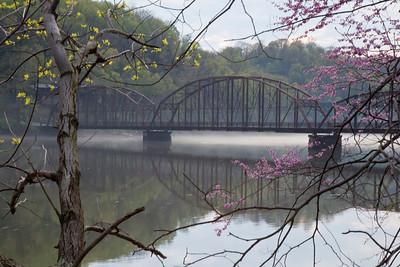 Cheat Lake, Old Iron Bridge Morgantown, WV (IMG_2685) edit
