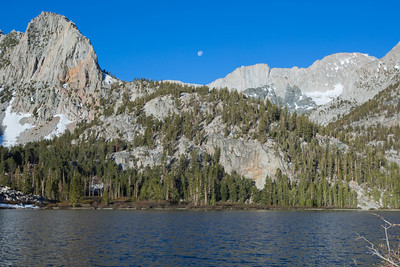 moon over horton lake.