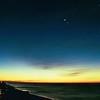 Destin Florida at sunrise.