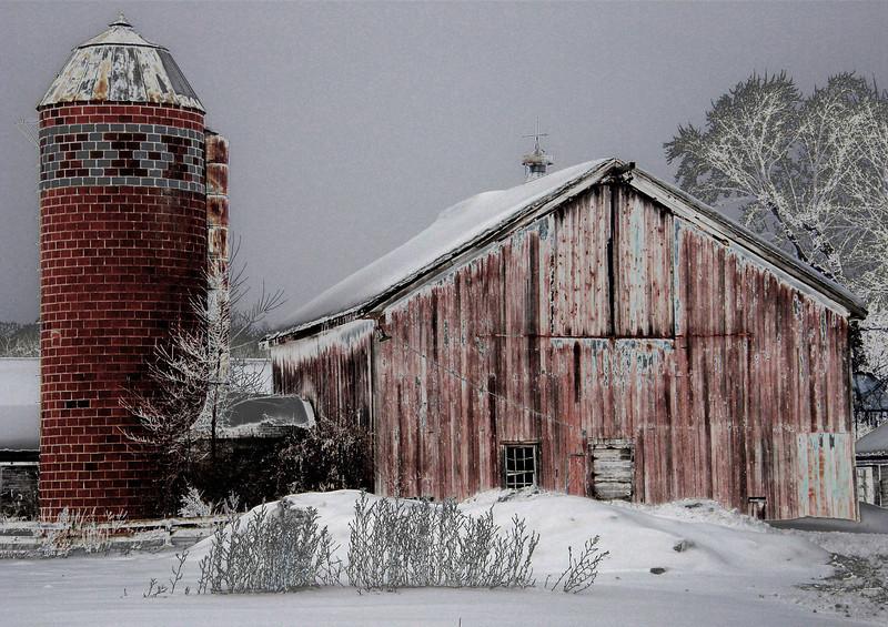 Icy Barn