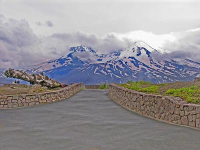 Devastated Mt. St. Helens in 2006