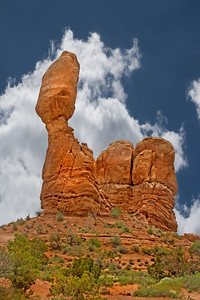Rock formationss in Arches Nat'l Oark