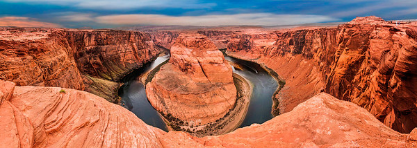 Horseshoe Bend Overlook, Page AZ