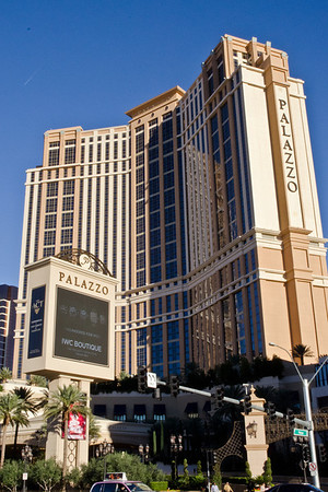 Stayed at the Palazzo on the strip for a few days.