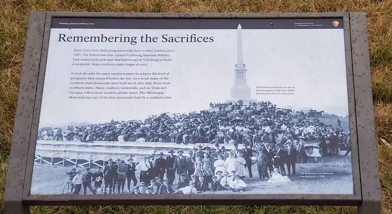 Vicksburg Mississippi National Military Park January 2021