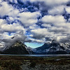 Beginning of the Milford Sound.<br /> Fiordland National Park<br /> South Island, New Zealand