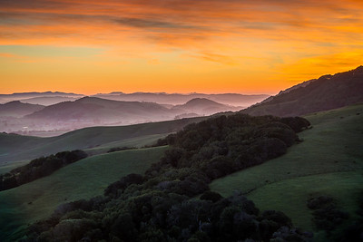 Petaluma Hills Sunrise