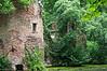 De ruïne van het kasteel