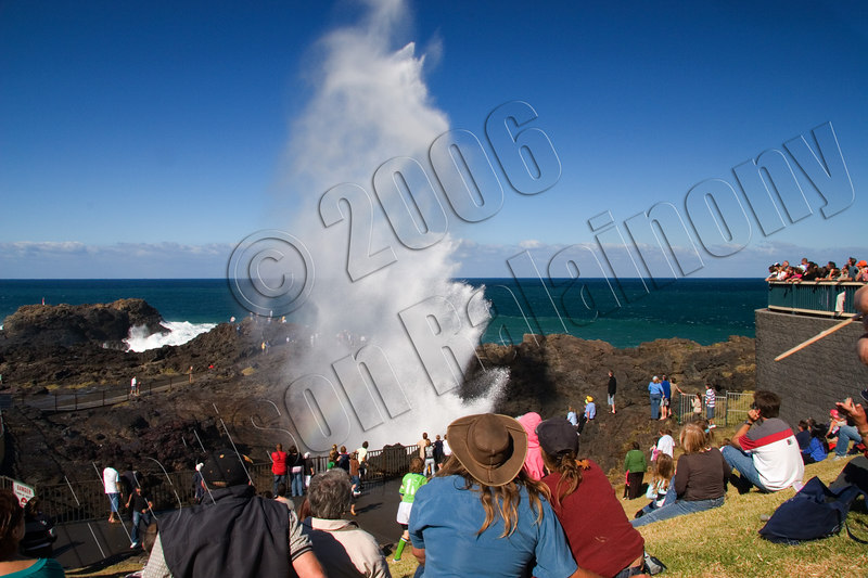 Kiama Blowhole at its best