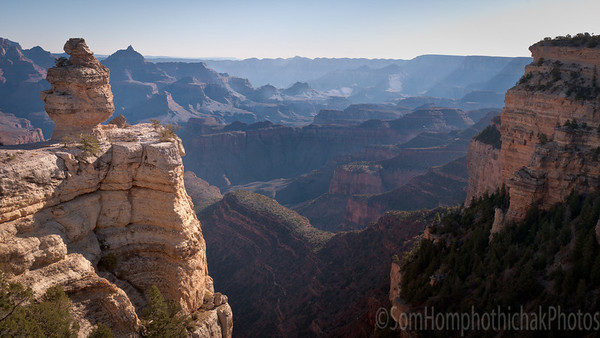 South rim Grand Canyond
