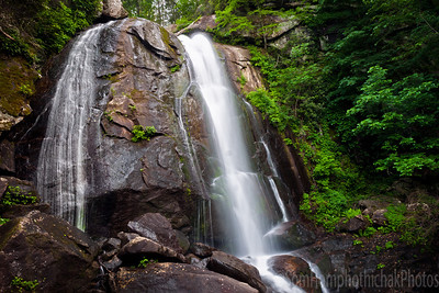 High Shoals Falls, South Mountain State Park, North Carolina