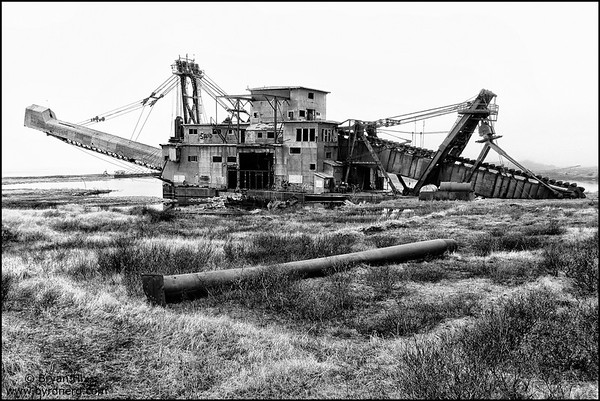 Early 1900s Gold Dredger
