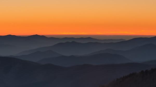Sunset at 6600 feet